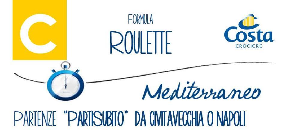 Roulette costa crociere mediterraneo offerte